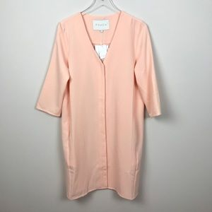 FRENCH LUCY PARIS | Pink Button Up Dress
